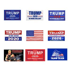 Donald Trump Kampagne Banner 90cm * 150cm 2020 US-Präsidentschaftswahl Flagge Halten Sie Amerika Große 3x5 Feet American Flags