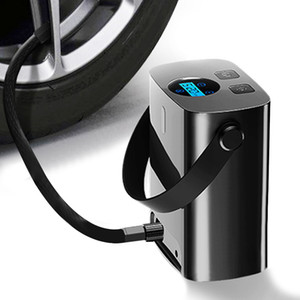 Rechargerable Car Air Compressor Pump Wireless Car Tire Inflator Handle 150PSI Portable for 12V Motorcycles Bicycles