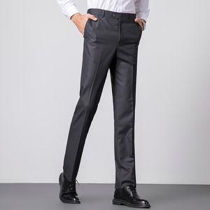 2020 Fashion Business Formal Men Suit Pants Custom Made Costume Homme Men Slim Fit Pants Pantalones De Vestir Hombre