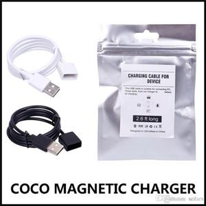 COCO USB Charger 80mAh 2.6ft lungo magnetica cavo di ricarica di ricarica veloce JOLL compatibile USB wireless Bianco Nero Wire