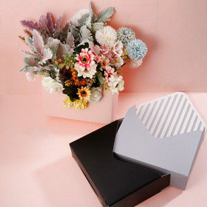 Creative Mini Envelope Type Box Flower Bouquet Floral Hand-folded Gift Box Korean Flower Valentine's Day Gift