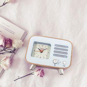 portable Alarm clock 6 kinds color bluetooth 4.2 speaker