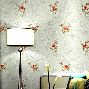 3DRomantic Fresh pastoral multi-color flowers pattern non-woven wallpaper comfortable eco-friendly wall covering for home decor