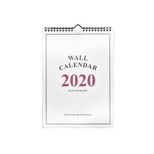 2020 Daily Schedule Hand Drawing Monthly Annual Planner Home Wall Calendar Paper