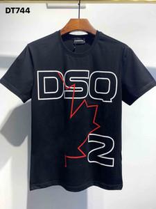 DSQ Phantom Tortue 2020ss New Mens Designer T-shirt Italie T-shirts Été Hommes DSQ T-shirt Homme Top Qualité 100% coton Top 4008