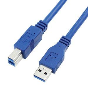 cgjxs Usb Printer için 3 0,0 A Erkek Am için Usb 3 0,0 B Tipi Erkek Bm Uzatma Yazıcı Tel Kablo USB3 0,0 Kablo