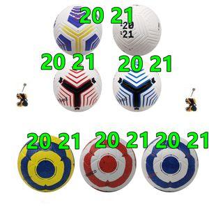 Beste Qualität Cup Fußball 2021 PU Größe 5 Bälle Granulat rutschfester Fußball Freie hochwertige Kugel Versand