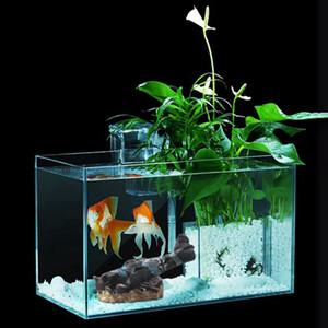 Decoração Paisagem Mini Fish Tank Resina modelo de avião Para Casa Garden Fish Tank Decoração Nova