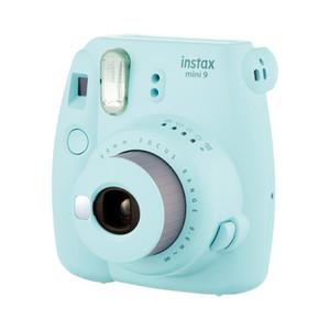 مرة واحدة التصوير كاميرا INSTAX Mini9 فورية بولارويد مجاني 10 جهاز كمبيوتر صور الورق الذكية الجمال هدية للأطفال