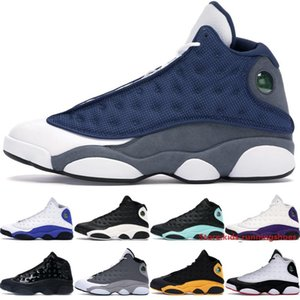 Jumpman 13 13s High Mens Basketball Shoes Classic Designer Flint 2020 Reverse He Got Game Black Island Green Big Boys Trainers Size 40-47