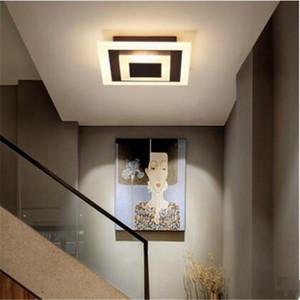 Nordic LED Lighting Lighting Sourfist Downlight Downlight Semplice Modern Corridoio Lampada da soffitto Lampada da soffitto Atrio Atrio Round Balcony Lamps RW333