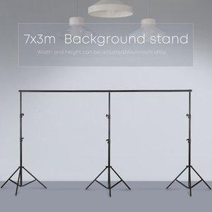 3mx7m / 10ftx23ft Pro Fotografía Foto Contextos el Sistema de Apoyo Antecedentes mostradores para la bolsa de transporte Foto Video Estudio +