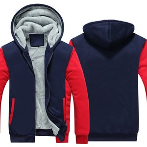 Zipper Hoodies Sweatshirts Jackets Men and Women Winter Thicken Hooded Coat EU US sizes Wholesale customizable 200923