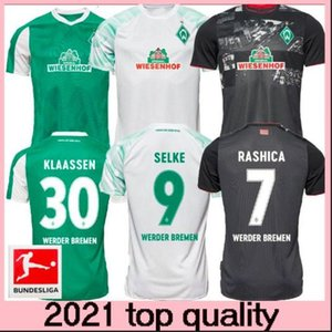 20 21 SV Werder Bremen city Soccer Jerseys HOME away 2020 2021 FRIEDL KLAASSEN SELKE RASHICA BARTELS Werder Bremen men kids Football shirts