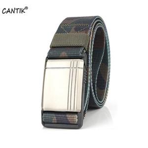 CANTIK الجودة POM الشرائح المغناطيسية سبيكة من البلاستيك الصلب الإبزيم نماذج عادية نمط نايلون اكسسوارات رجالية الحزام 3.8CM Width01