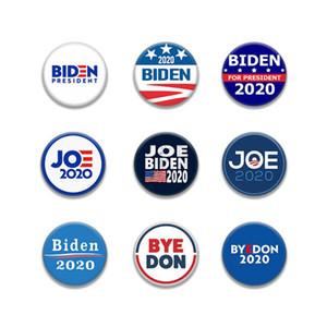Vente en gros Mode Biden élection présidentielle unisexe Femmes Hommes adultes Tinplate Badge DHL Broche écusson Livraison gratuite
