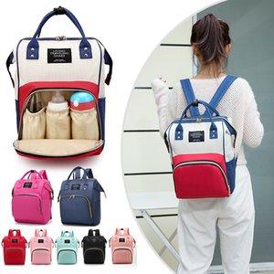 Large Capacity Mummy Maternity Nappy Travel Backpack Nursing for Baby Care Women's Fashion Bag 200923