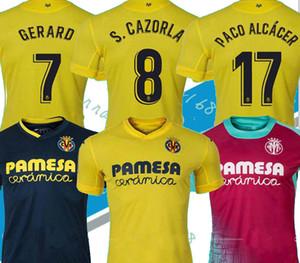 20 21 Villarreal CF S.CAZORLA Fußball-Trikots Startseite CHUKWUEZE FORNALS wegfußballJerseysfußball Hemd PEDRAZA MORENO Ekambi IBORRA Football-Shirts