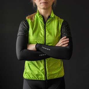 TWIN SIX Cycling Vest Women Pro Team Trikot ärmellos super leicht Bike Gilet Mesh Fabric Abdeckung Ropa Ciclismo Straße MTB Bekleidung