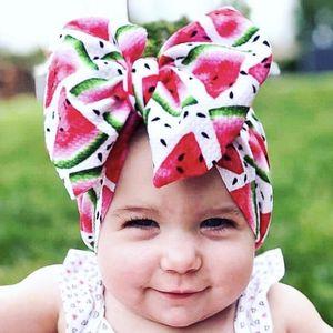 TELOTUNY baby girl Cute Unisex bandana Multicolor Headband Elastic Big Bowknot Design Hair Band baby hairband flower 2020apr20