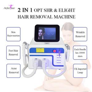 Equipaggiamento permanentemente Depilazione SHR IPL Attrezzatura di bellezza Dark Facial Nuovo potente sistema di rimozione del sistema di rimozione di IPL SHR del sistema laser