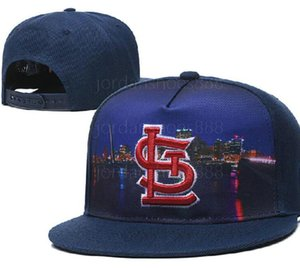 Irrésistible Hot 2020 Baseball Cardinal Snapback Chapeaux Os plat des femmes des hommes casquettes de baseball a10