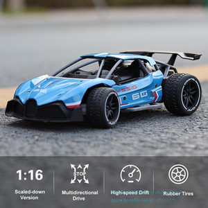 SLONG Diecast Alloy 2.4G-RC-Racing Car Toy, High Speed 15 KM H, 1:16 F1 Power Wheels, Cool-Drift, Multiplayer-Sport, Kid Christmas Gift,USEU