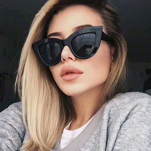 New Cat Design Vintage Women Eye Retro Sun Sol Fashion Sunglasses Female Glasses Eyewear Oculos De Brand Stflx