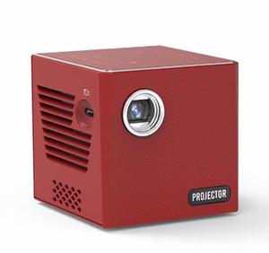 2020 new Wireless Smart mini projector android system operated touch pad control 3400mAh big battery capacity