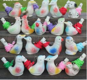 Pássaro Forma Whistle Crianças Ceramic água Ocarina Artes E Ofícios Kid presente para muitos estilos