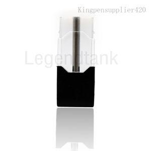 Vacíos vainas vape cerrados aceite espeso Cartucho Ecigs 0,7 ml Pen Kit de cerámica Coil Pods Para jbox Mod Vape 100% auténtico