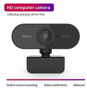 Migliori webcam 1920 * 1080 Risoluzione Dinamica HD Webcam completa con built-in Sound assorbimento microfono Auto Color Correction Webcam 1080P webcast