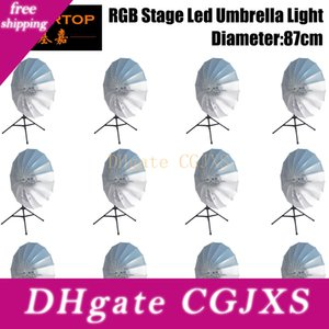 Tiptop 12 unidades 20inch Rgb 3in1 dança LED Show presentes guarda-chuva colorido luminescência Use Prop Luz Stage Como Favolook Costume Acessórios