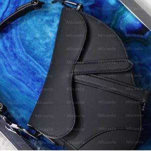 Free Box luxurys дизайнеры сумка классических матовое седла мешок 2020 горячих женского Crossbody сумки моды натуральной кожи сумка сумка кошельки