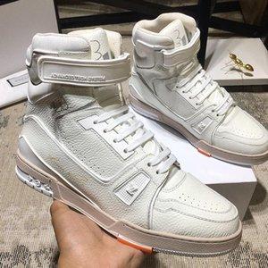 Moda Sneakers Erkek Moda Tipi Chaussures Hommes Trainer Sneaker Boot Casual Luxury Zapatos dökün Çizme Footwears ile Kutusu Erkekler Shoes