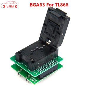 SADECE NAND TL866II PLUS flaş programcı için 1.8V TSOP48 BGA63 baz boad ile iyi kalite BGA63 Adaptörü