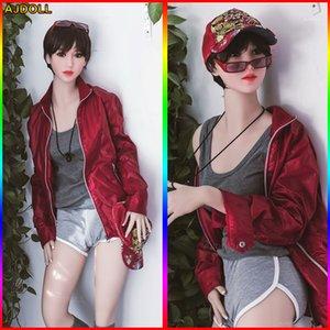 168 centímetros Top Quality Lifelike Sex Dolls real Adulto, silicone de tamanho completo com Skeleton Love Doll, cu grande japoneses Manequins