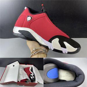 La meilleure qualité 2020 Jumpman 14 Toro Gym Rouge Noir Blanc 487471-006 Hommes Basketball Chaussures Baskets Baskets avec la boîte Taille 7-13