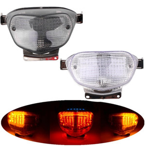 Мотоцикл Встроенный светодиодный задний Tail Brake Light Turn Signal Stop Lamp Taillight для Suzuki GSXR600 GSXR750 GSXR1000 K1 K2
