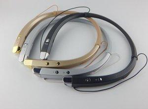 Cgjxs Hbs 913 Hbs913 V4 .1 Bluetooth Wireless Headphones cuffia stereo auricolare con archetto da collo Mic per il cellulare rilievo del calcolatore 30pcs / Lot O Semplice