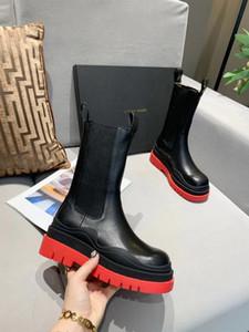 botas de diseño de marca nueva mujer de diseño calientes botas de cuero cómoda del estilo del invierno cargadores de Martin