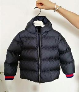 marque de haute qualité Vêtements d'extérieur pour enfants garçon et fille d'hiver à capuchon épais manteau manteau enfants coton Doudoune vêtements pour enfants Vestes