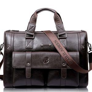 LEINASEN Marke High Capacity Men Aktenkoffer Business Messenger Handtaschen Herren Taschen Laptop-Handtaschen Herren Reisetaschen Highquality