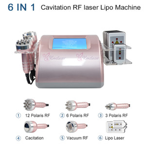 Top Verkauf Cavitation Abnehmen System Avitation vaccum Therapie Radiofrequenz-Vakuum-Lipo Laser 8 Laser Pad Fat-Verlust-Maschine Salon Verwenden