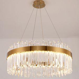 Light  crystal living room chandelier post modern minimalist creative atmosphere  dining room bedroom lamps