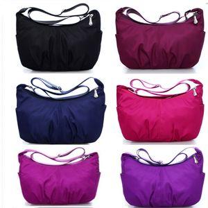 Fashion Water Proof Travel Bag Large Capacity Bag Women Oxford Folding Bag Unisex Luggage Travel Handbags Storage Bags 6 Colors HH9-3242