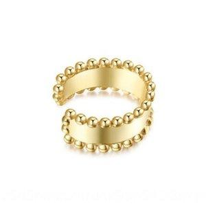 Mode et boucles d'oreilles clips comment tout match boucles d'oreilles en perles de bord simple mode de bijoux de haute qualité oreille
