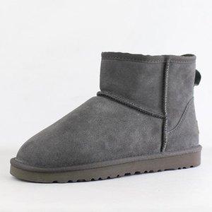 Hot Sale Australian Frauen-Schnee-Boost-Ug Frauen-Schnee-Aufladungen 100% echtes Rindsleder Stiefeletten warme Winterstiefel Frauen-Schuh