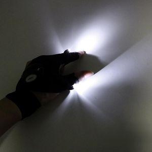 2pcs  Pair Finger Light Led Glove Flashlight Torch Multi -Use 1 Piece For Camping Hiking Fishing Repairing Mini Portable Light