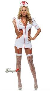 enmQ4 Act European Acting clothingUnderwear Clothing sexy Krankenschwester Cosplay Versuchung Rollenspiel Uniform Anzug Kleidung 0257 Europäische